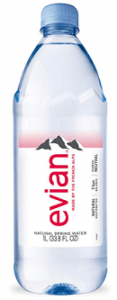 brands of mineral water